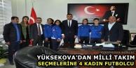 Yüksekova'dan milli...