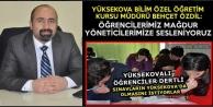 Yüksekovalı Öğrencilerden Yetkililere Çağrı: YKS Sınavı Yüksekova'da Yapılsın