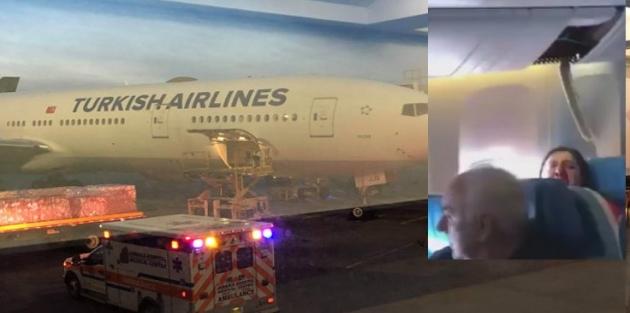 THY uçağı türbülansa girdi: 30 yaralı