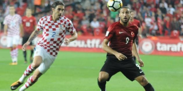 Türkiye: 1 - Hırvatistan: 0