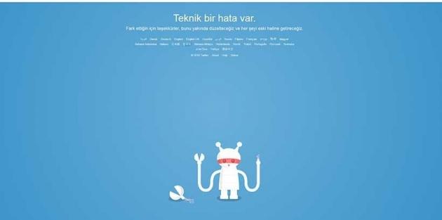 Twitter'a erişilemiyor, Twitter çöktü mü?
