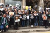 Ankara'da 'Adalet Nöbeti' tutuldu
