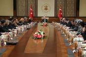 Cumhurbaşkanı Erdoğan, ABD'li şirketlerin yöneticilerini kabul etti