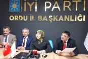 İYİ Parti: Ordu adayımız İdris Naim Şahin