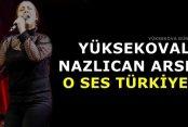 Yüksekovalı Nazlıcan Arslan O Ses Türkiye'de