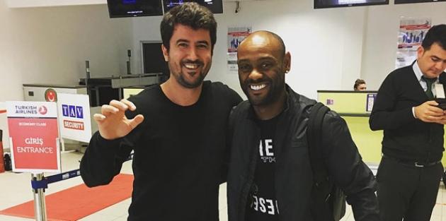 Vagner Love, İstanbul'a geldi!