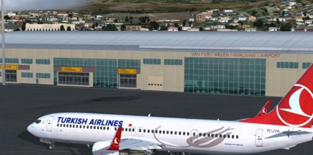 Van Ferit Melen Havalimanı'nda yolcu sayısında yüzde 25 artış
