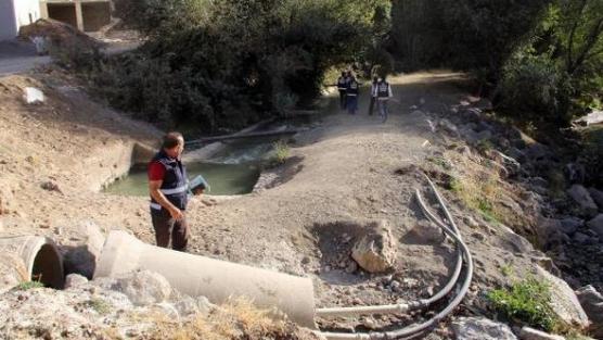 Van'da kaçak su kullanan 210 kişiye 500 bin lira ceza