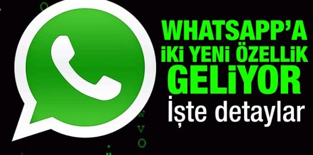 Whatsapp'a etiketleme ve grup davetiyesi özellikleri geliyor