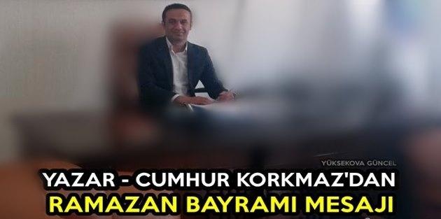 Yazar Korkmaz'dan Ramazan Bayramı Mesajı