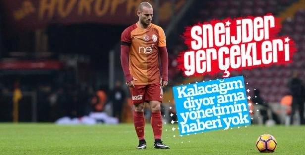Yönetimin Sneijder kararı değişmedi