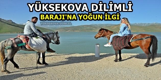 Yüksekova Dilimli Barajı'na yoğun ilgi