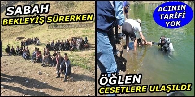 Yüksekova Dilimli Barajında Kaybolan 3 Çocuğun Cansız Bedenlerine Ulaşıldı