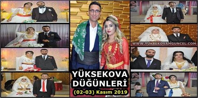 Yüksekova Düğünleri (02-03) Kasım 2019