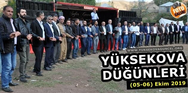 Yüksekova Düğünleri (05-06) Ekim 2019