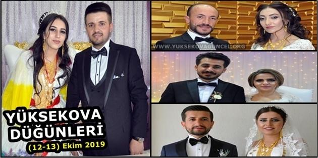Yüksekova Düğünleri (12-13) Ekim 2019