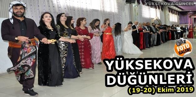 Yüksekova Düğünleri (19-20) Ekim 2019