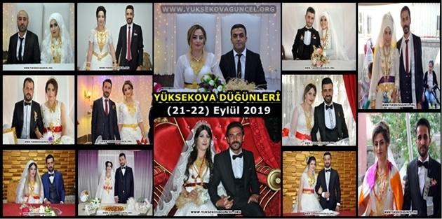 Yüksekova Düğünleri (21-22) Eylül 2019
