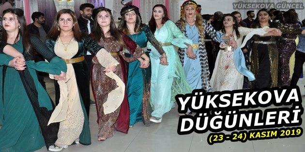 Yüksekova Düğünleri (23 - 24) Kasım 2019