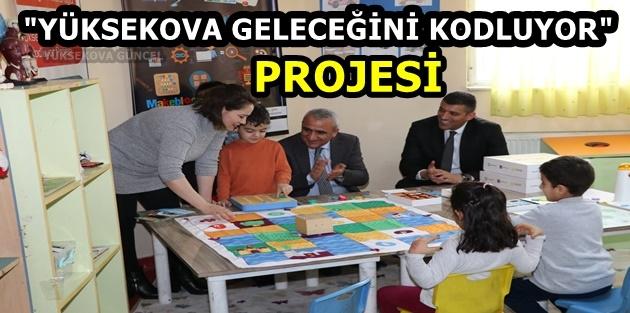 """""""Yüksekova Geleceğini Kodluyor"""" projesi"""