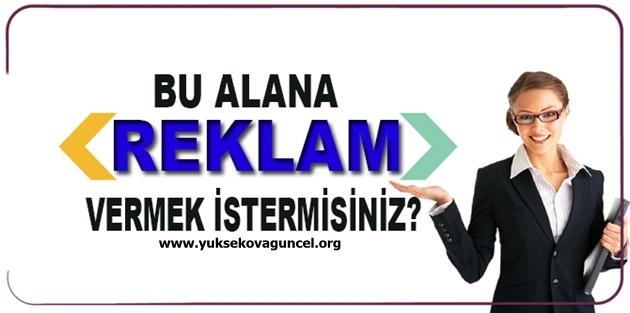 Yüksekova Güncel'e Reklam vermek ister misiniz?
