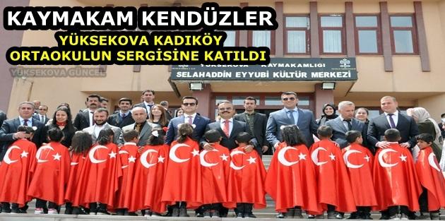 Yüksekova Kadıköy Ortaokulu Projelerini Sergiledi