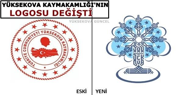Yüksekova Kaymakamlığı'nın logosu değişti