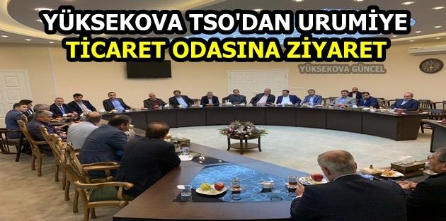 Yüksekova TSO'dan Urumiye Ticaret Odasına ziyaret