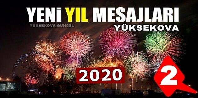 Yüksekova Yeni Yıl Mesajları - 2020 (2)