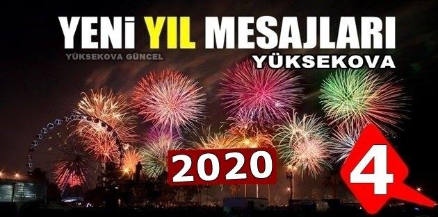 Yüksekova Yeni Yıl Mesajları - 2020 (4)