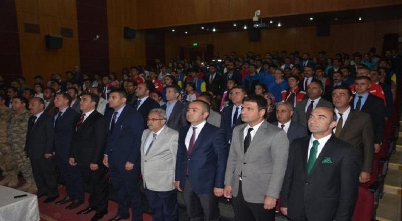 Yüksekova'da 19 Mayıs Kutlandı