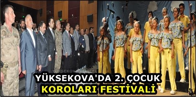 Yüksekova'da 2. Çocuk Koroları Festivali
