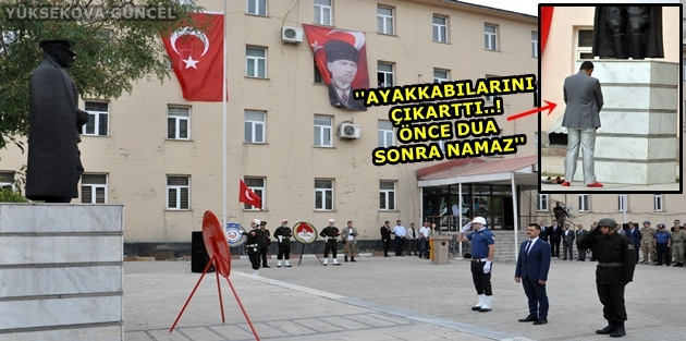 Yüksekova'da 30 Ağustos Zafer Bayramında İlginç Görüntülere Sahne Oldu