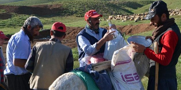 Çobanlar Dağda İftar Sofrası Kuruyor