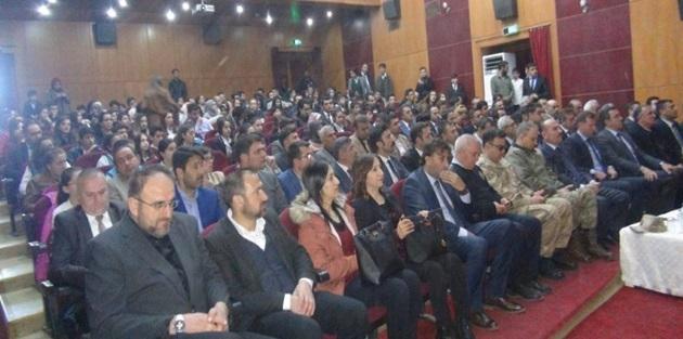 Yüksekova'da İstiklal Marşı'nın kabulü kutlandı