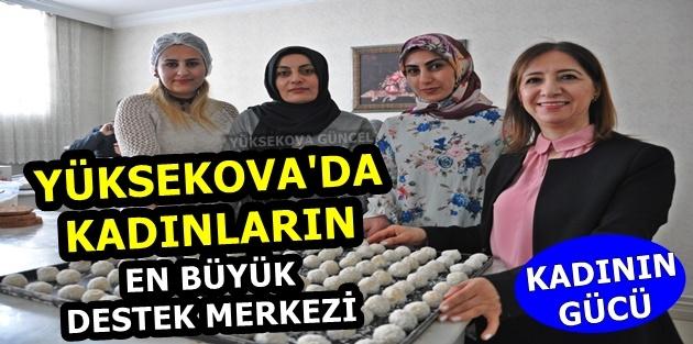 Yüksekova'da kadınların en büyük destek merkezi