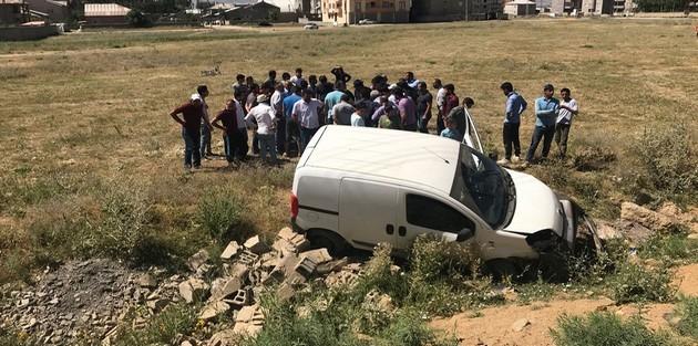 Yüksekova'da kaza: 1 kişi yaralı