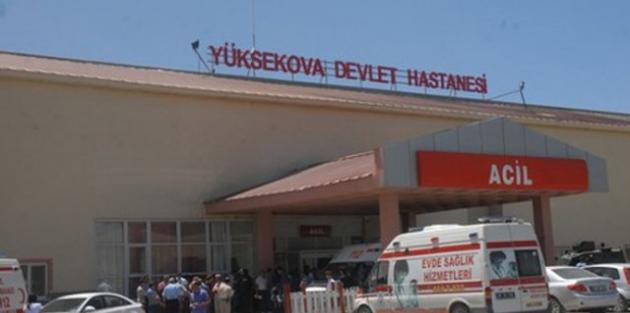Yüksekova'da kaza: 1 ölü