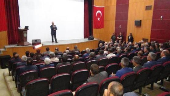 Yüksekova'da 'Kırsal Kalkınma' toplantısı
