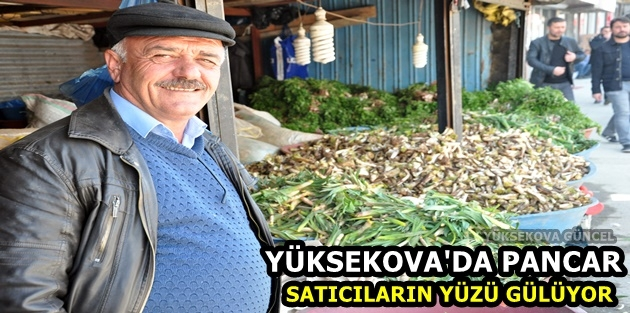Yüksekova'da Pancar Satıcıların Yüzü Gülüyor