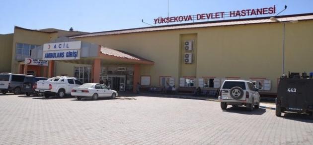 Yüksekova'da patlama:1 ölü, 1 yaralı!
