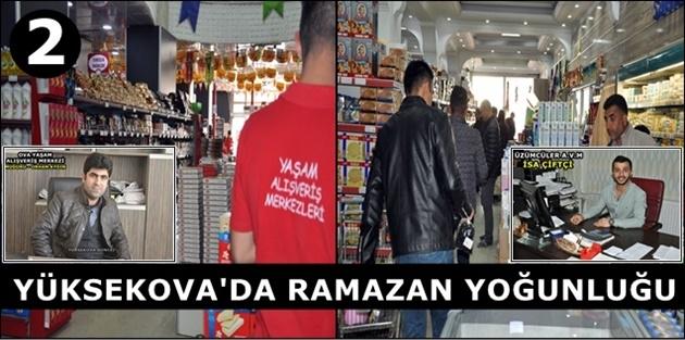 Yüksekova'da Ramazan Yoğunluğu (2)