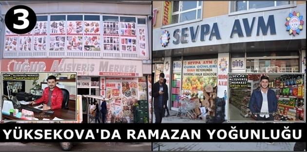 Yüksekova'da Ramazan Yoğunluğu (3)