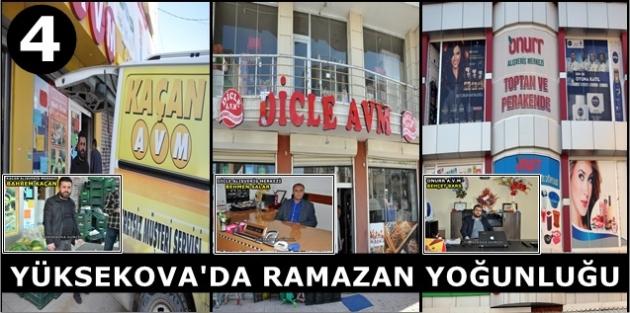 Yüksekova'da Ramazan Yoğunluğu (4)