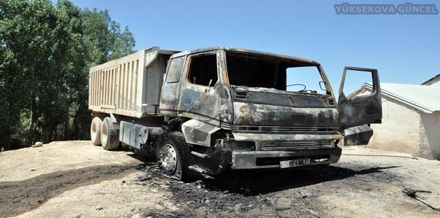 Yüksekova'da Şantiyeye Baskın: 1 Kişi Ağır Yaralı
