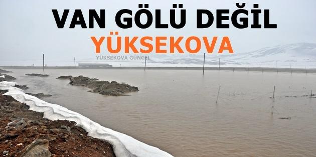 Yüksekova'da Su Taşkınlarına Karşı Önlem