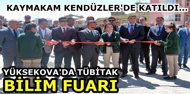 Yüksekova'da Tübitak Bilim Fuarı