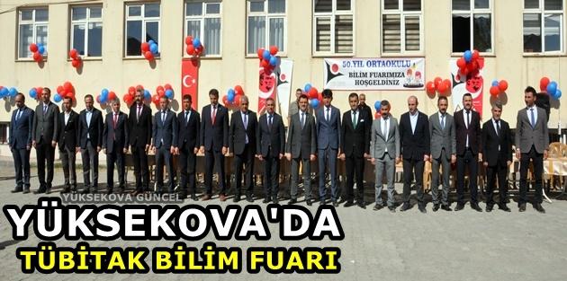 Yüksekova'da TÜBİTAK Bilim Fuarı