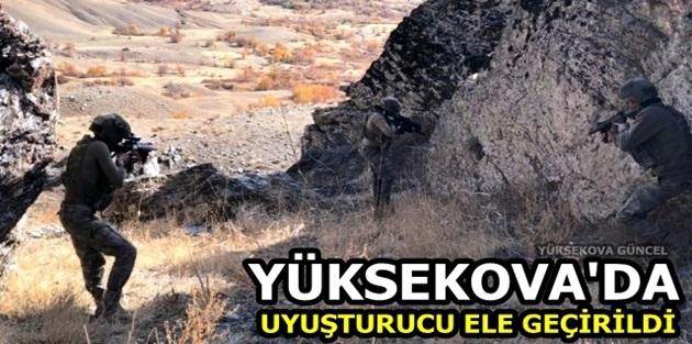 Yüksekova'da Uyuşturucu Ele Geçirildi