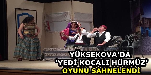 Yüksekova'da 'Yedi Kocalı Hürmüz' Oyunu Sahnelendi